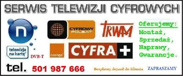 Serwis Tv Sat Montaż Anten Satelitarnych I Dvb-t